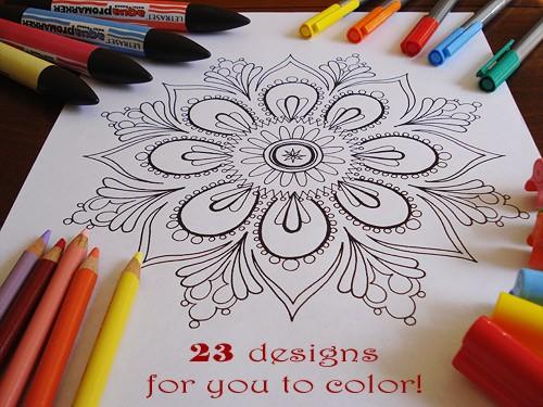 mandala-coloring